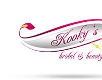kooky's bridal & beauty logo version 02