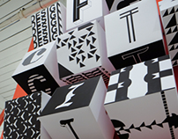 Design Fictions Title Wall & Identity