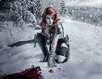 Crimson Snow - Red Sonja