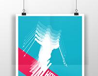 Sochi Olympic Poster: Women's Alpine Skiing