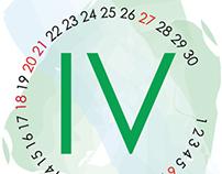 Calendario en Círculos