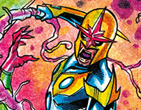 Marvel Universe 2014 Sketchcards