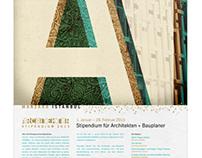 Poster – Manzara Istanbul Architekturstipendium