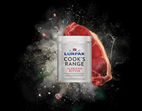 Lurpak - Cook's Range concept art for prints