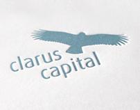 Clarus Capital: Logo Redesign, Corporate, Web Design