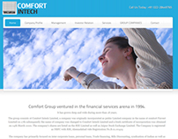 Financial Website - Comfort Intech