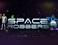 Character Animation for Space Robbers (slots game)