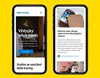 IKEA FAMILY Redesign