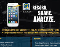 Quaker Chemical's CoolanTool App Launch Email