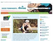 Kaiser Permanente - Thrive Campaign