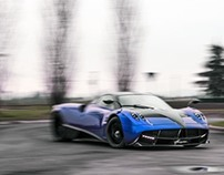 The Blue Huayra