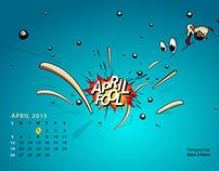 April Fool's Day 2015 Wallpaper