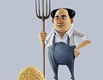 Gripper Zipper / Mao / Osama / Hitler
