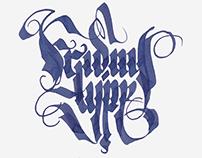 Calligraphy.TANAI