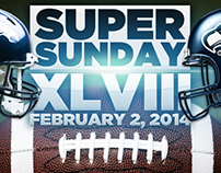 Super Bowl Sunday Promo