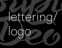 Lettering based logotypes