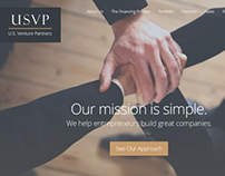 USVP Website Redesign Concept