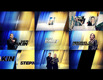 The Daily Brief - TV Show Graphics Package