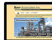 Website Design, Barr Associates