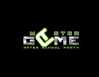 Logo MASTER GAME // after school party