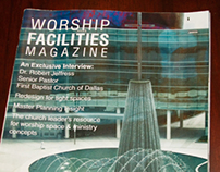 Magazine Redesign | Worship Facilities Magazine