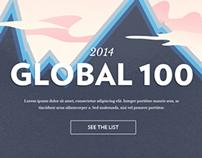 Corporate Knight's Global 100 Website