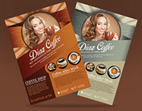 Gourmet Coffee Flyer | Modern Design