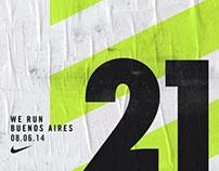 NIKE // WE RUN BUENOS AIRES 21K