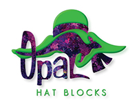 Logo & Business Card Design: Opal Hat Blocks
