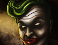 His Usual Smile | The Joker - DC Fan Art