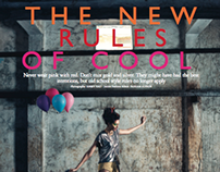 The New Rules of Cool, Grazia India, April 2014
