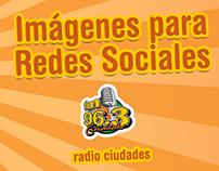 Gráfica Promocional para Radio Ciudades