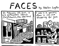 Faces - Christchurch Anthology