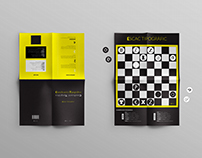 Juego de ajedrez tipográfico • Typographic chess game