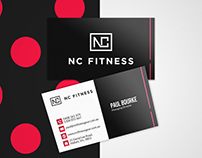 NC Fitness Business Card