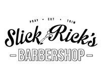 Slick Rick's Barbershop Brand Identity