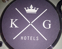 King & Grove Hotels identity