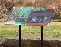 Green Works Park Signs