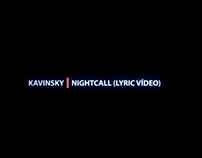 Kavinsky- Nightcall (Lyric Vídeo)