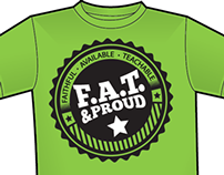 F.A.T & Proud Ministry T-Shirt
