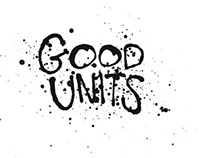Good Units - identity