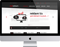 Red Reklam Web Design