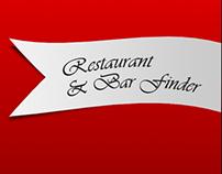 Restaurant and Bar Finder