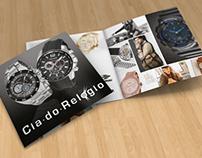 Folder | Cia do Relógio