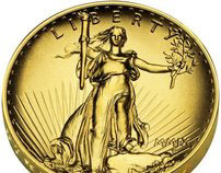 US Mint - Saint-Gaudens Double Eagle Gold Coin Campaign
