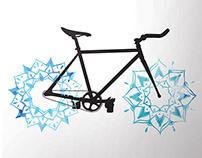 Velo Life Bike Poster Series