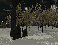 Snowy Mountain (3-D Unity Project)