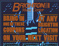 Brighton Music Coupon Flyer
