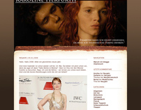 Karoline Herfurth Website