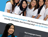 Rak Thai Language School Concept